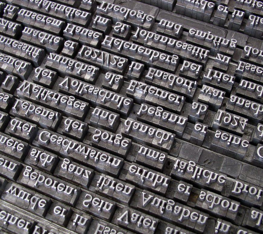 web font